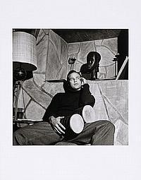Marlon Brando at his home, 1955 File # 7-44
