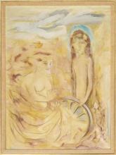 ENIT KAUFMAN New York, 1897-1961 Oil Painting