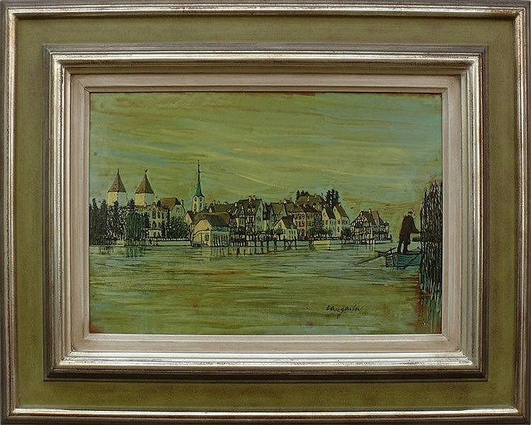 Hangarter, Walter (1929 Konstanz - 1995 Gottlieben)