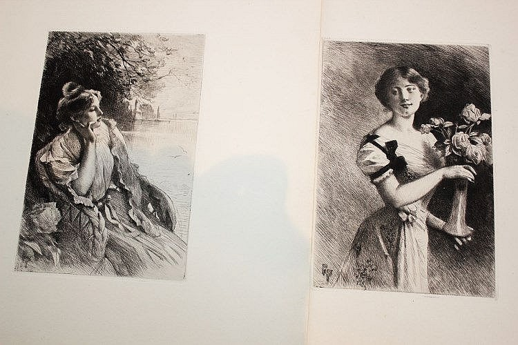 Rodolph Piguet (1840-1915)    8 études, mi