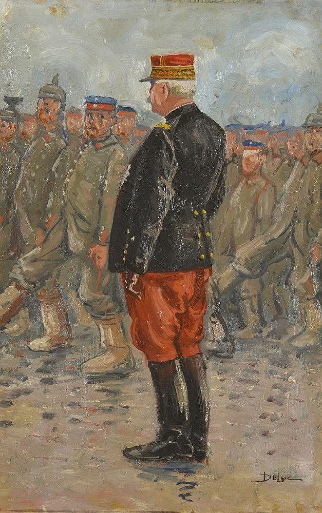 John Henri Deluc (1868-1958)    Inspection