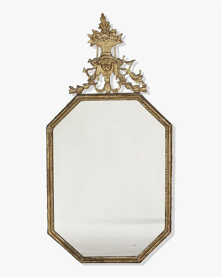 Miroir Octogonal Italie Xviiie S