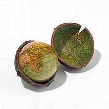 Nicholas Lane, Londres, 1807 Globe terrestre et céleste de poche