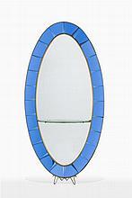 Grand miroir ovale Fontana Arte
