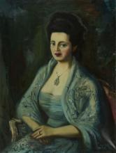 Hans Robert Pippal (1915-1998) - Portrait de femme, huile sur toile, sig