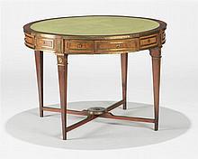 Table à jeux russe à la manière d' Heinrich Gambs (1765-1831)  Quatre t