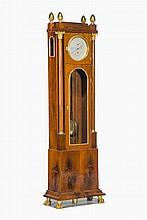 Régulateur de parquet par John Formann (1736-1777)  Marchant 8 jours, b