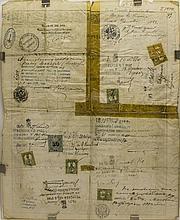 Passeport à l'étranger délivré à Monsieur Becker Georges pour la Russie, l'