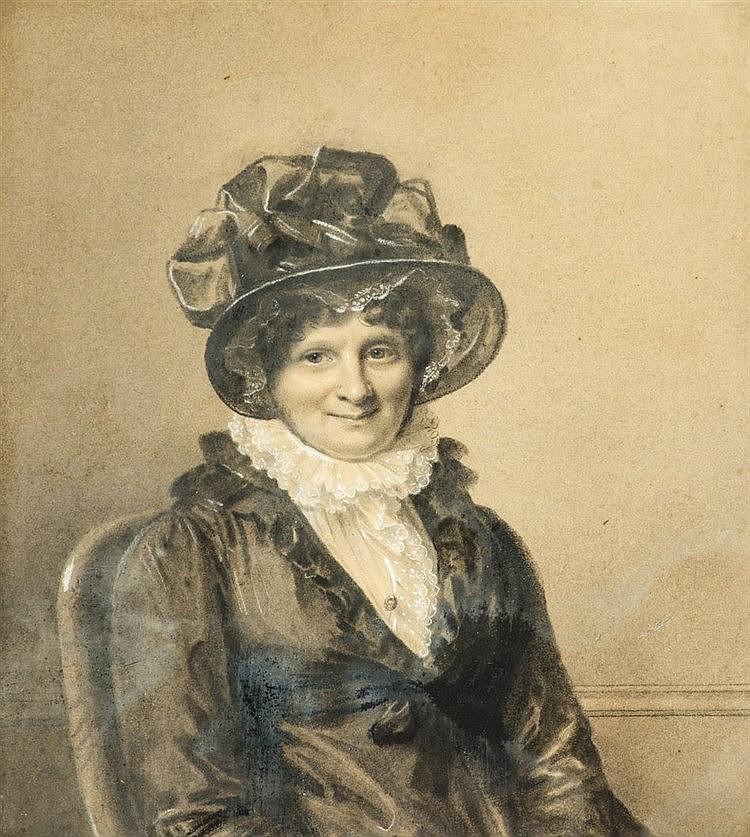 Firmin Massot (1788-1875) Portrait de Madame Dunant-Colladon