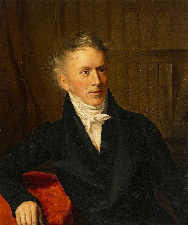 Firmin Massot (1766-1849) Portrait de Gabriel Cramer-Audéoud