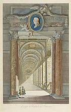 Joannes Volpato (1733-1803), d'après Petrus Camporesi  Les loges de Rap