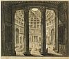 Jean-Baptiste Piranèse (1720-1788)  Veduta interna del Panteon, gravure, Jean-Baptiste Piranese, CHF600