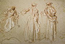 Ecole française XVIIIe s dans le goût de Jean-Baptiste Pater (1695-1736)