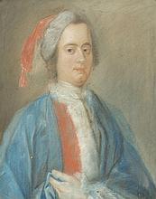 Suiveur de Jean-Etienne Liotard (1702-1789)   Portrait d'homme au bonne