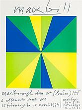 Max Bill (1908-1994)  Affiche originale