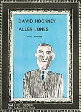 David Hockney (1937)  Affiche originale