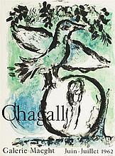 Marc Chagall (1887-1985)  Affiche originale