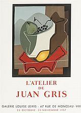 Juan Gris (1887-1927)  Affiche originale