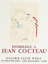 Jean Cocteau (1889-1963)  Affiche originale
