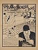 Felix Vallotton (1865-1925)  Le plan commode de Paris, lithographie sig, Felix Vallotton, CHF300