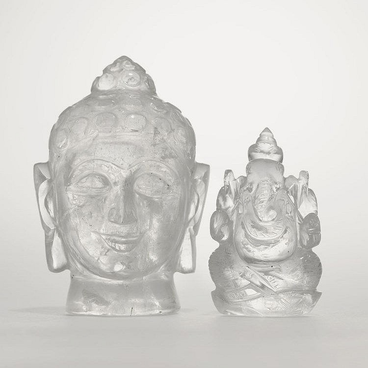t te de bouddha et statue de ganesh. Black Bedroom Furniture Sets. Home Design Ideas