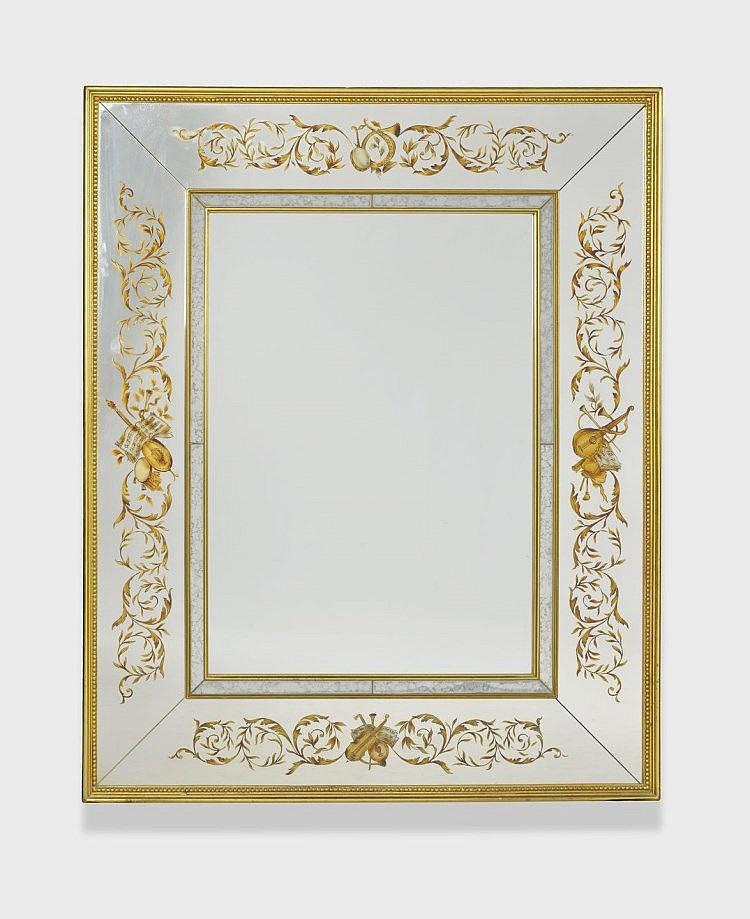 Miroir de style v nitien des ann es 1950 60 for Miroir venitien