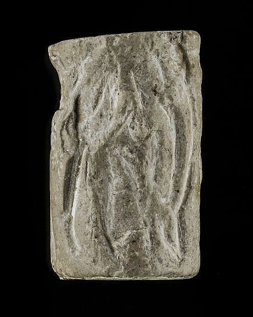 5 sceaux-cylindres, calcaire et marbre, néo-assyrien, 934-610 av. JC