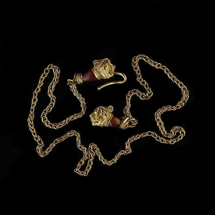 Bracelet ou bracelet de cheville, époque hellenistique, III-IIe s av. JC