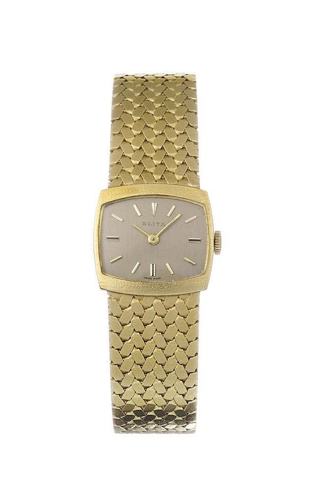 Blita, montre bracelet carrée mécanique