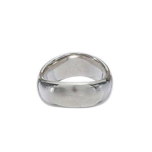 Pomellato, bague jonc à motif de vague