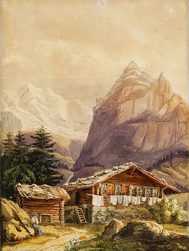 Ecole suisse, XIXe s