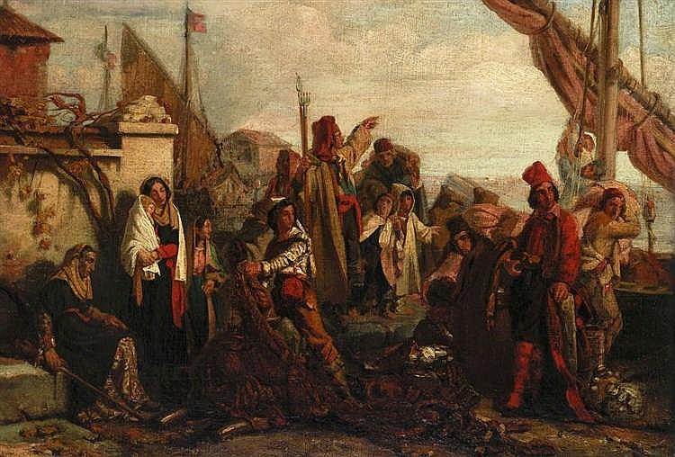 Attribué à Léopold Robert (1794-1835)