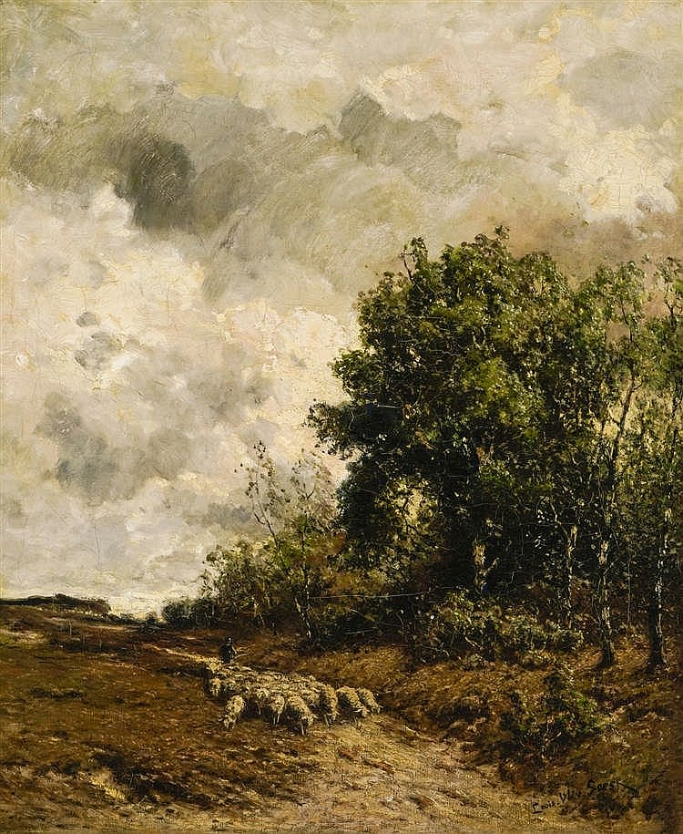 Louis Willem Van Soest (1867-1948)
