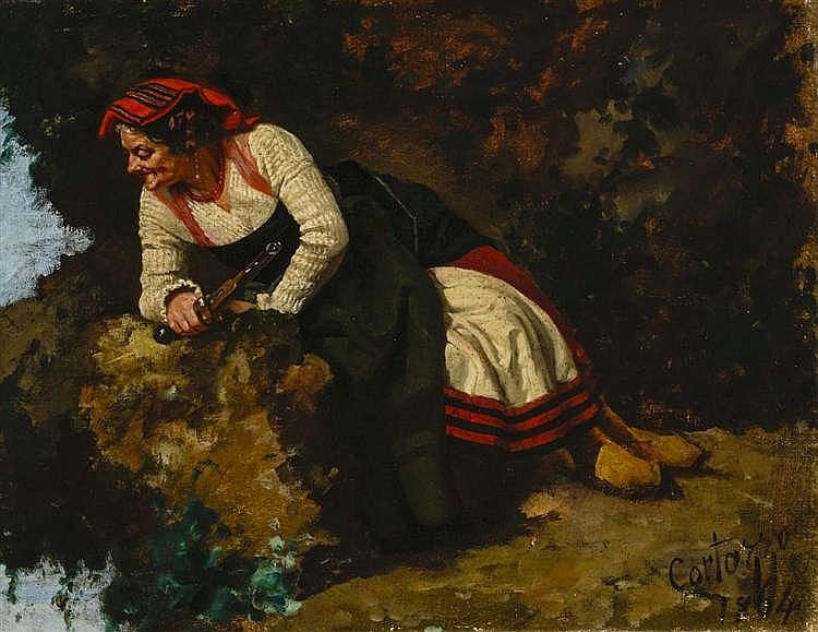 Oreste Cortazzo (1830/36-c.1912)