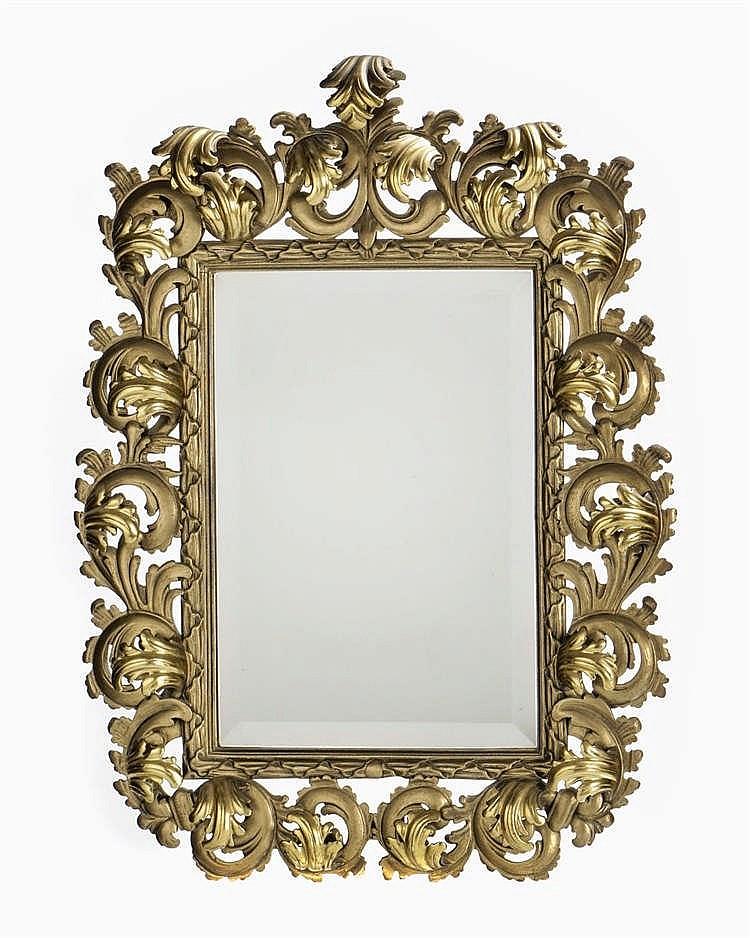 Miroir rectangulaire de style italien