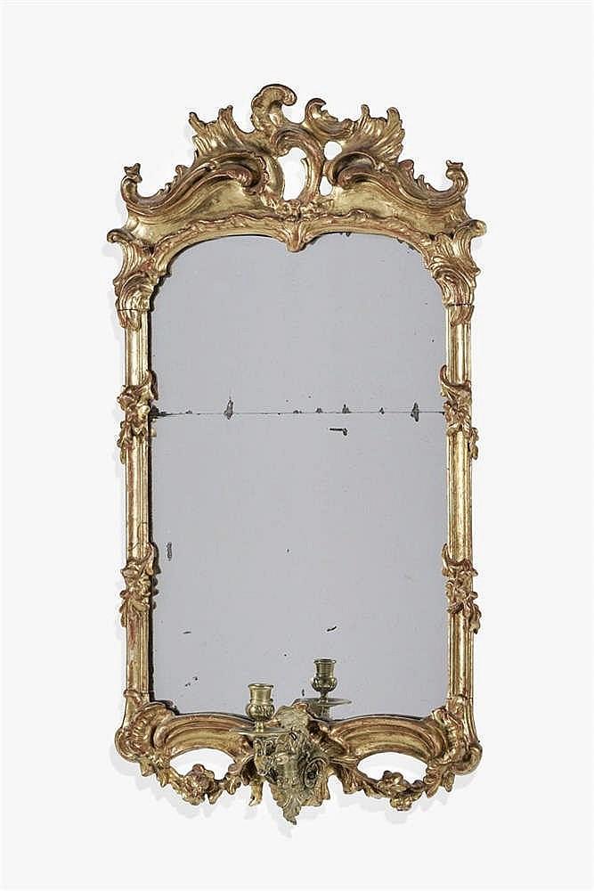 Miroir rococo, Italie, XIXe s