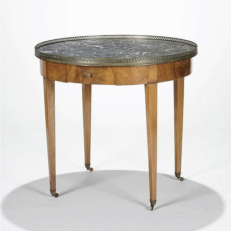 Table bouillotte d'époque Directoire