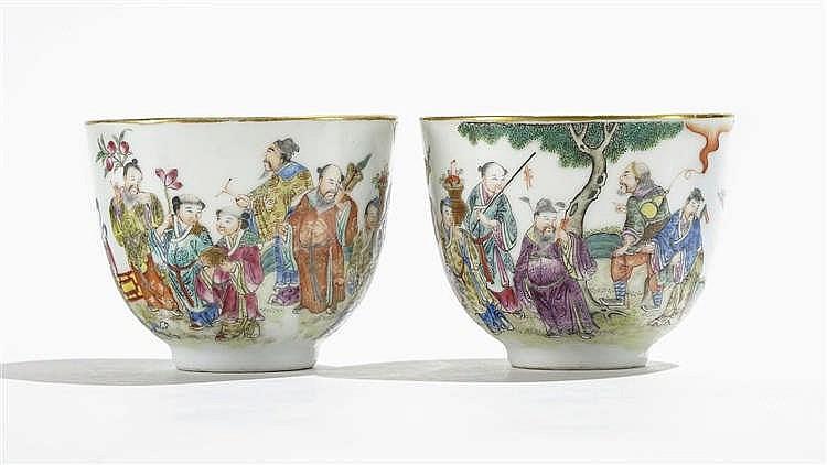 Deux bols, Chine, époque Daoguang, (1820-1850)