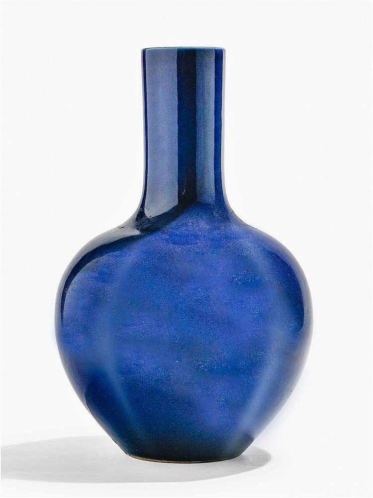 Vase bouteille, Chine, XIXe s