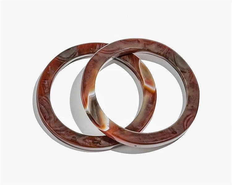 Paire de bracelet jonc