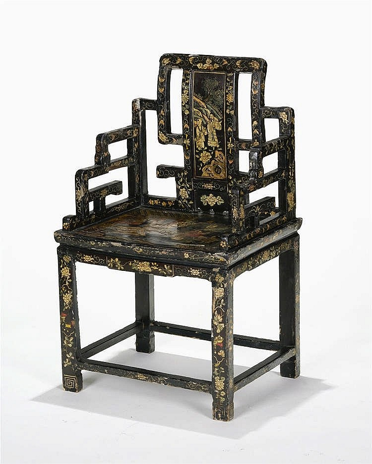 Fauteuil, Chine, dynastie Qing (1644-1912)