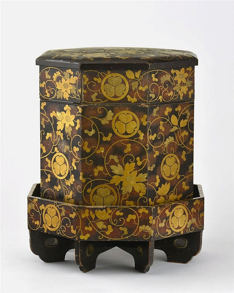 Hokkai Bako (boîte à pique-nique), Japon, époque Edo, XIXe s