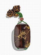 Inro à deux compartiments, Japon, fin de l'époque Edo (1603-1868) ou début Meiji (1868-1912)
