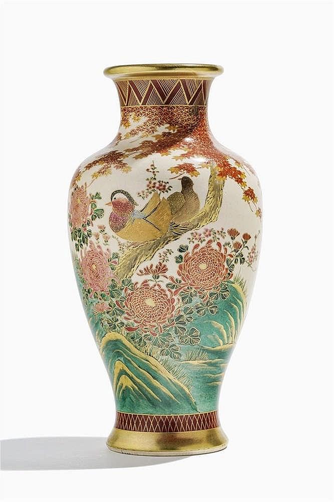 Vase Satsuma, Japon, époque Meiji (1868-1912)