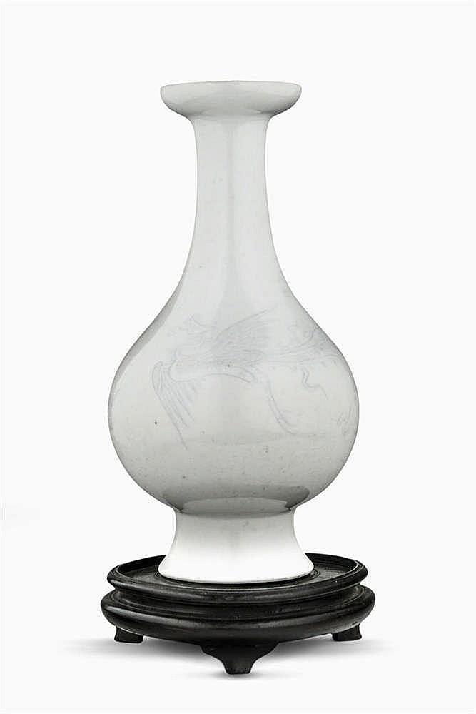 Vase de forme balustre à décor anuha, Chine, dynastie Qing (1644-1912)