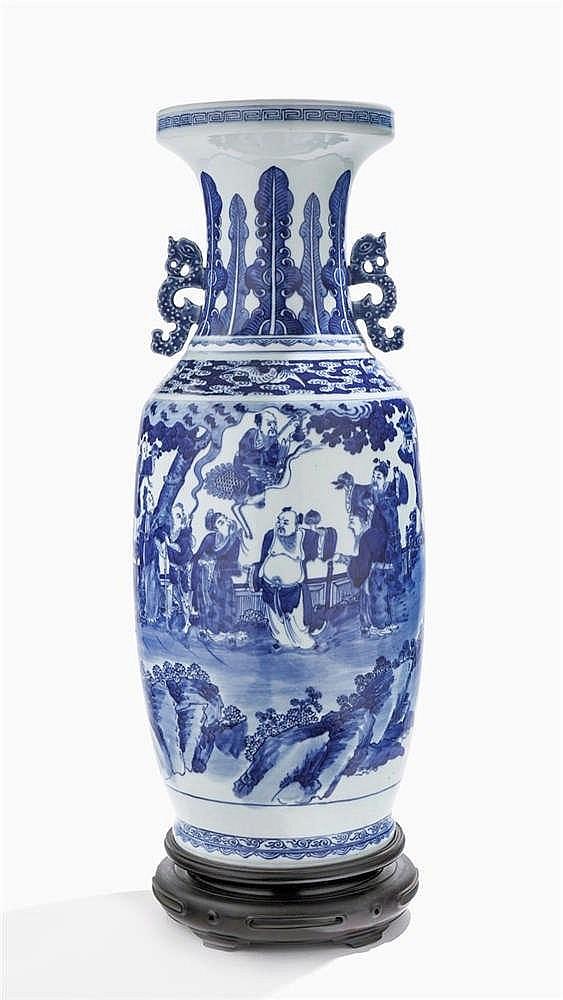 Grand vase, Chine, époque Daoguang (1821-1850)