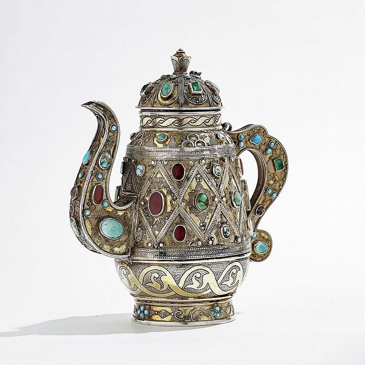 Théière Turkmen, Asie Centrale, début XXe s