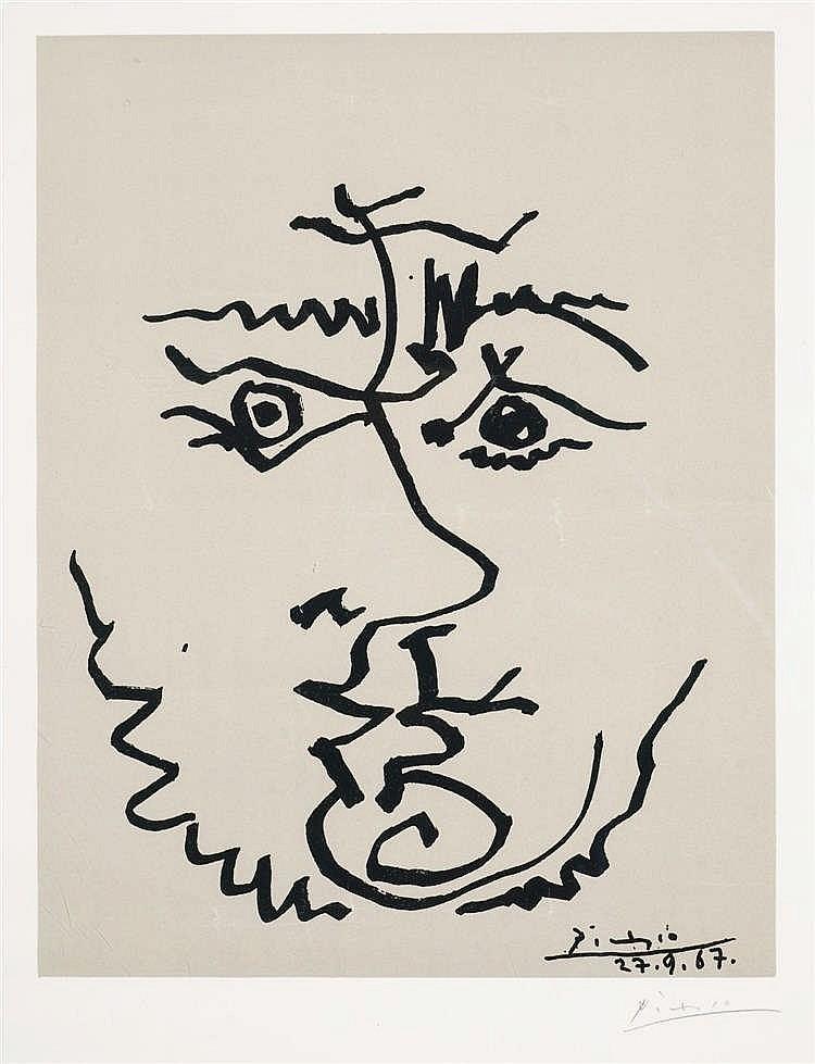 D'après Pablo Picasso (1881-1973)