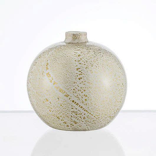 Vase soliflore globulaire à col étroit
