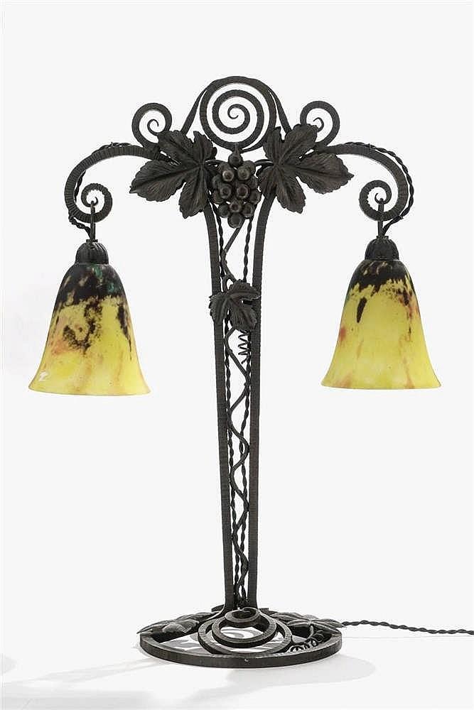 Lampe signée Daum Nancy France